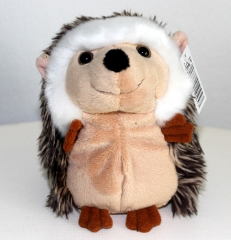 Cute plush fabric animal hedgehog (standing) by FÖRSTER