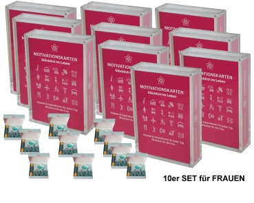 Happy in Life for Women (Edition II) Set of 10 (German)