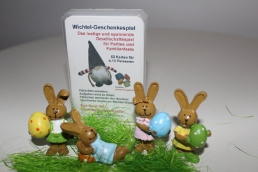 Exclusively for Easter: Wichtel Presents game with rabbit figures