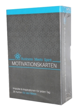 "Motivationskarten-Set ""Aus dem Stress in die Balance"" für den Mann (Edition I)"