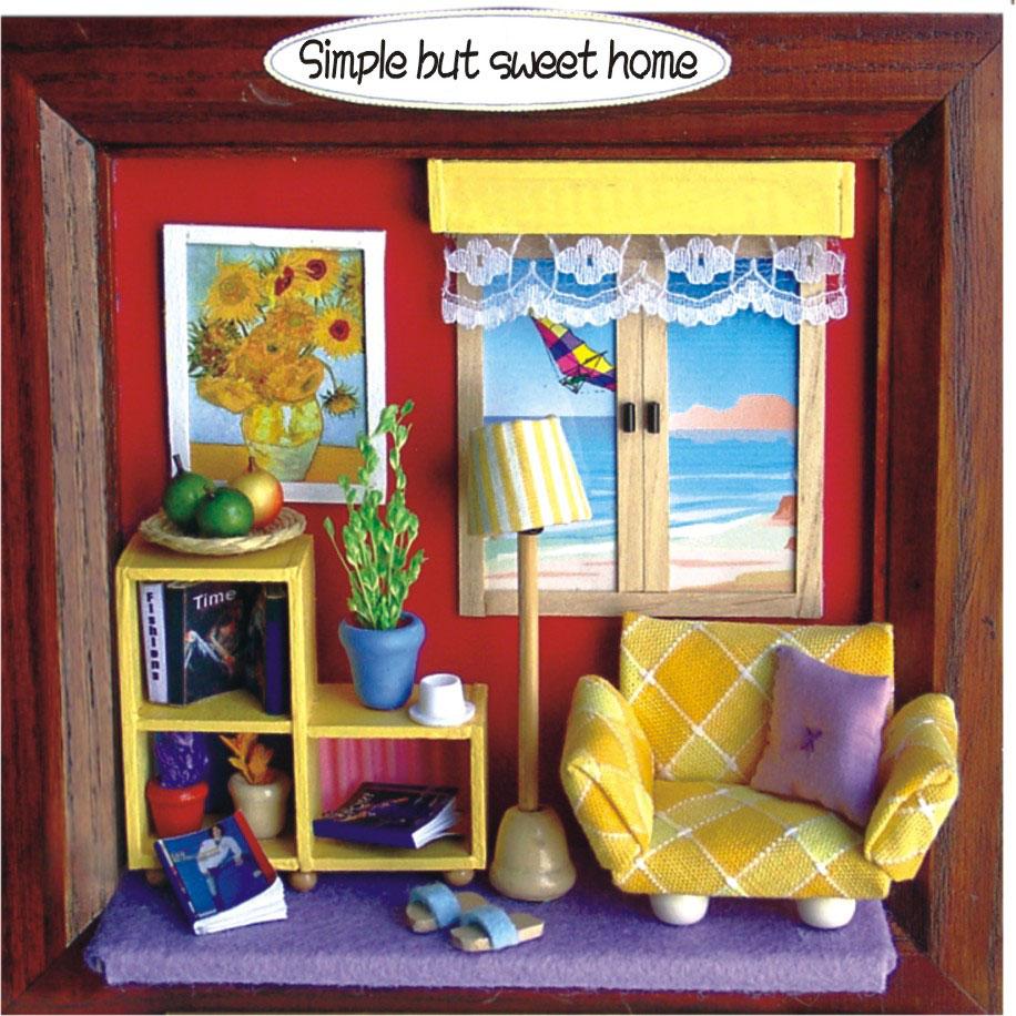 3 D Picture Frame Deko Creative Set Diy Kit Set Simple But Sweet Home