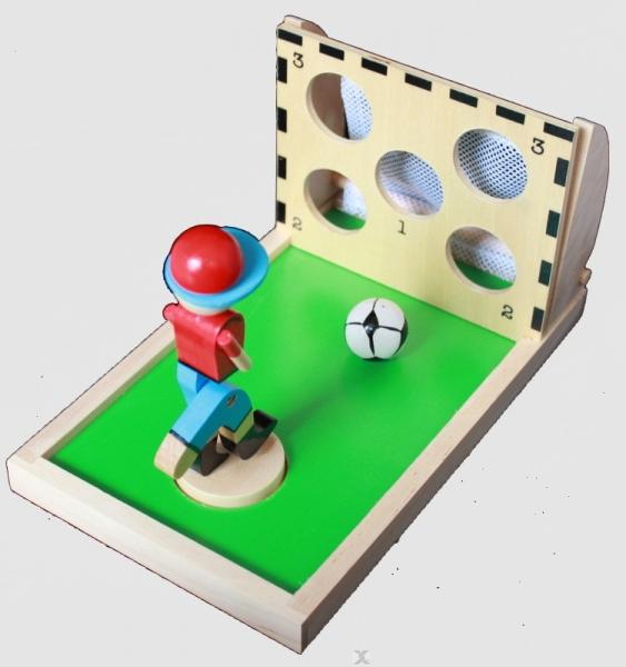 Ritterburg Holz Universe Of Imagination ~ 12,50 EUR  Geschicklichkeitsspiel GREAT GOAL aus Holz