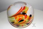 Moderne Formano Kugelvase multicolor 17cm