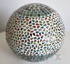 formano Mosaik Kugellampe bunt