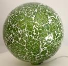 Mosaikglas Kugellampe Formano Ø 20 cm grün mit Beleuchtung