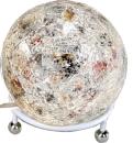 formano Mosaik Kugellampe silber bunt